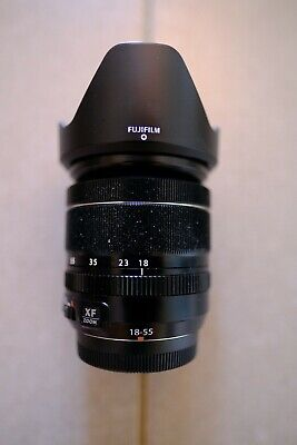 FUJIFILM FUJINON XF 18-55mm f/2.8-4.0 LM R OIS Lens, used only twelve months old