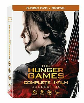 Hunger Games: Complete 4 Film Collection New Dvd