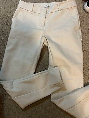 Loft Outlet NWOT Womens Flat Front Pant Size 4 Petite Modern Skinny Ankle