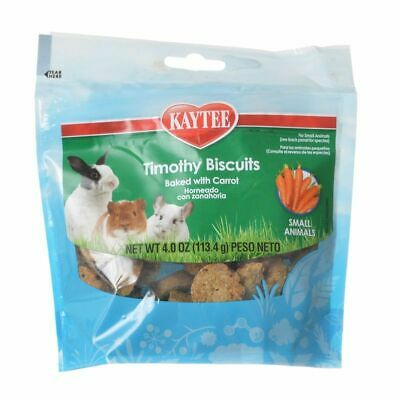 LM Kaytee Timothy Hay Baked Treat - Carrot 4 oz