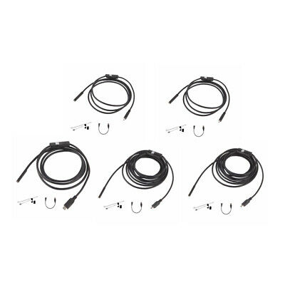 6 LED 7mm Lens Waterproof Mini USB Inspection Borescope Camera For Android Endos