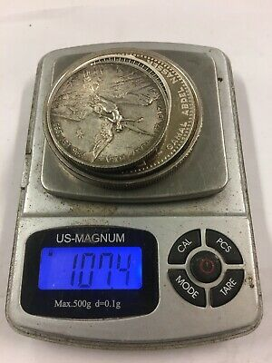 .999 .925 .900 281 Grams Of Silver Coins. Mexico And More