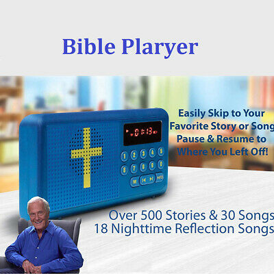 Bible Audio Player Electronic English Version Speaker Rechargeable Player AU