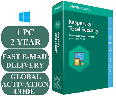 Kaspersky Total Security 1 Device / 2 Year  GLOBAL CODE 2020 E-MAIL ONLY