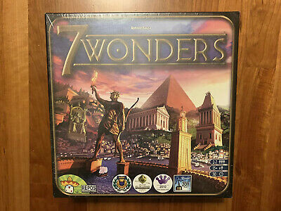 7 Wonders Board Game by Repos Production. Brand New In Shrink Wrap.