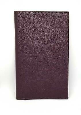 Authentic HERMES Ajanda cover Notebook cover Vision 2 Vision II Dark purple