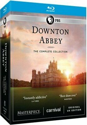 Downton Abbey: The Complete Collection Blu-Ray Box Set Region A