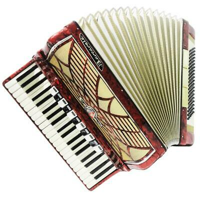 Almost Unused! Barcarole, 120 Bass German Accordion, New Straps Weltmeister 1230