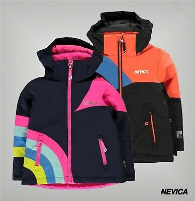 Boys Girls Nevica Waterproof Breathable Meribel Jacket Sizes Age from 2 to 6 Yrs