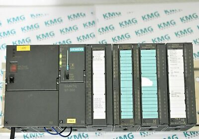 Siemens Simatic S7 300 CPU 312 CPU312C DI DO komplett Digital SPS PLC TIA tested