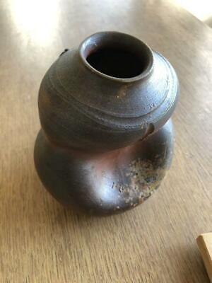 Bizen Ware Small Flower Vase For Wall Hanging