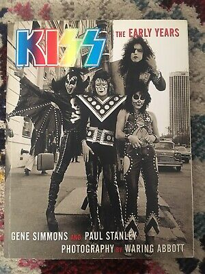 KISS The Early Years Book Signed Gene Simmons & Paul Stanley