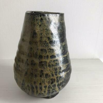 Potter Black Clay Natural Glaze Vase B