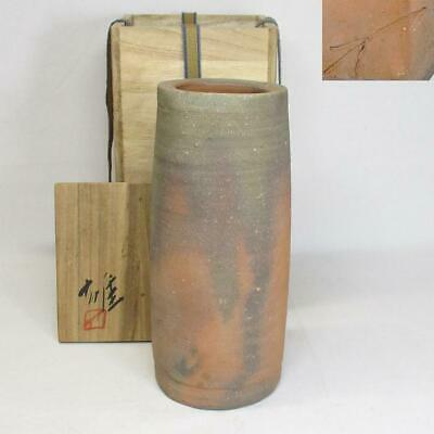 Authenticity Guarantee Bizen Ware Human National Treasure Fujiwara Male Make