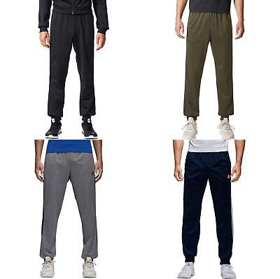 Adidas Tricot Pants Mens Regular Tapered Essentials Athletic 3-Stripe Joggers