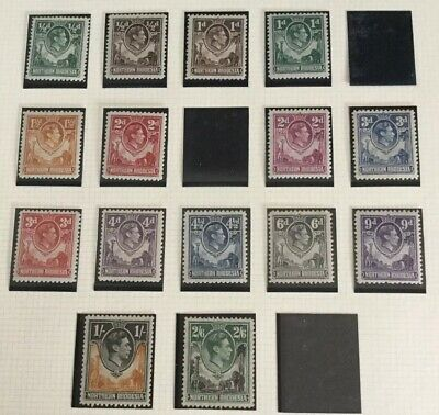 British Commonwealth Northern Rhodesia 1938 part set MH