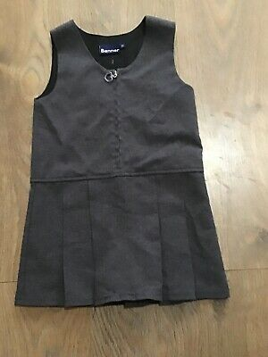 Banner Girls Grey School Pinafore Dress 4-5 Years K368