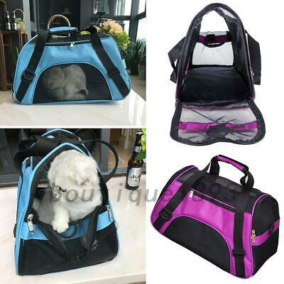Portable Pet Dog Cat Puppy Portable Travel Carry Carrier Tote Cage Bag For 0-5KG