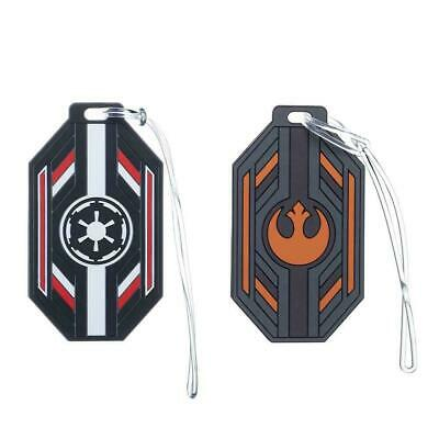 Star Wars Luggage Tag Set for Suitcases Bags ID Info Empire Alliance Vacation