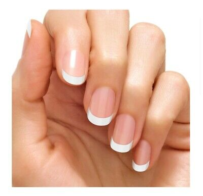 Color Street MEET ME IN PARIS French Manicure 100% Nail Polish Strips, NIP!