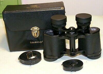 "Tasco 8 x 30 ""Montreal Olympics 1976"" Official Issue Binoculars and Case."