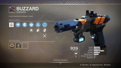 Destiny 2 Shadowkeep Buzzard Full Quest+rating 1 day Recovery Ps4/PC/Xbox