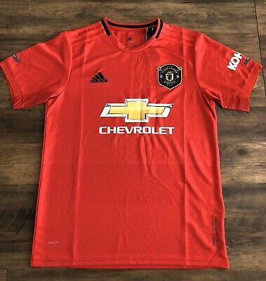BNWT 2019/20 Manchester United Home Shirt - Large