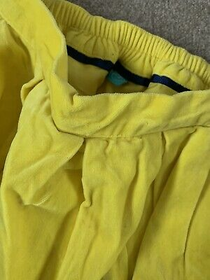 Lovely Girls Yellow Rainbow Velour Skirt By Little Bird Jools Oliver Age 3-4