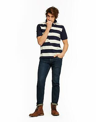 Joules Men Filbert   Classic Fit Striped Polo Shirt in  Size S