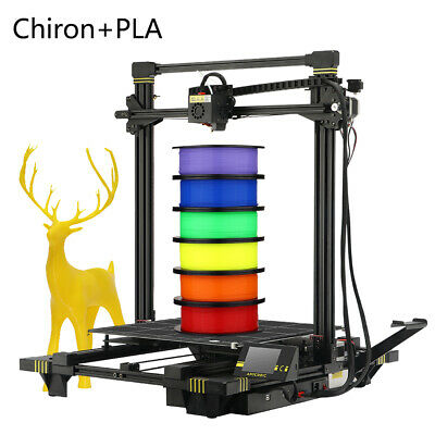 AU ANYCUBIC Chiron 3D Printer Ultrabase Pro Double Z-Axis Extra 1/3/5 1.75mm PLA