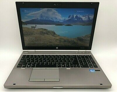 "HP EliteBook 8570P 15.6"", Intel i5-3210M, 2 5 HHz, 320GB HDD 8GB WiN10 LAPTOP"