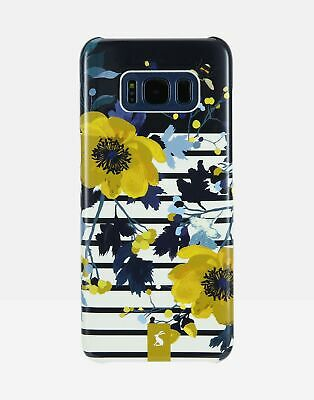 Joules Samsung S8 Case in FRENCH NAVY Cream FLORAL in One Size