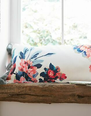 Joules Home Little Leaf Cushion in Cream FLORAL in One Size