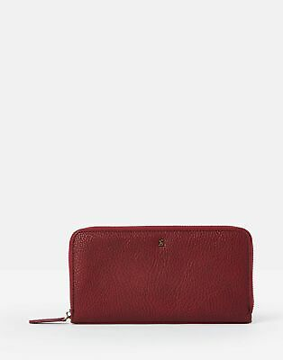 Joules Women Fairford Bright   Faux Leather Zip Round Purse in  in One Size