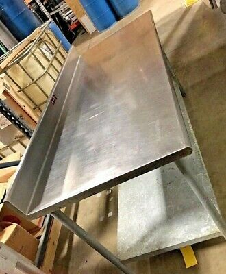 """Eagle Stainless Steel Prep Table Commercial Restaurant Table 72""""W"""