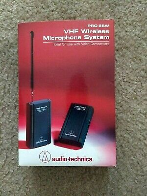 Audio Technica PRO 88W VHF Wireless Microphone System New in Box