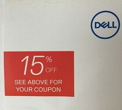 Dell 15% Coupon Code on Computers PCs and Dell Electronics, Expires 12/31/2019