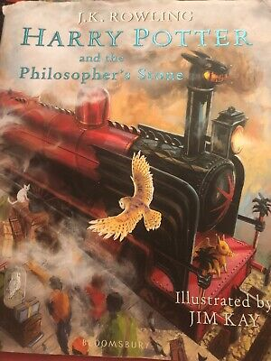 Harry Potter and the Philosophers Stone J.K.R Illustrated By Jim Kay. Hard Back