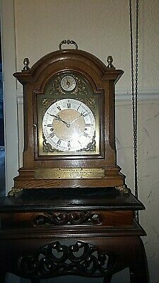 large antique   german W&H/ELITE  westminster chime bracket clock