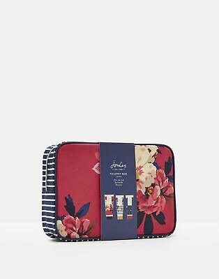 Joules Womens Toiletry Bag Gift Set in BIRCHAM BLOOM in One Size