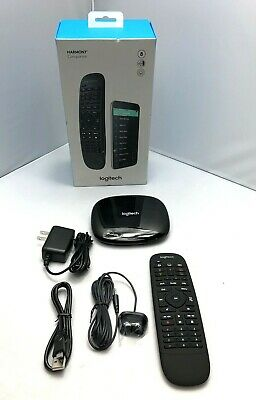 Logitech Harmony Companion All in One Remote Control and Smart Hub - Black