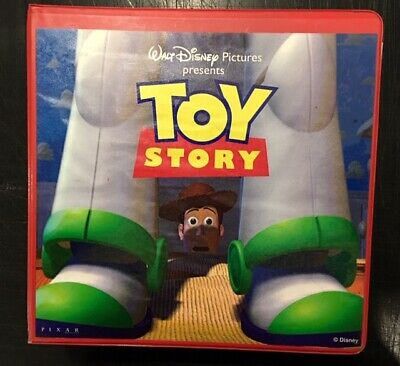 RARE TOY STORY advertising marketing merchandising STYLE GUIDE Pixar Disney