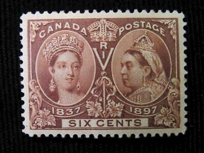 NobleSpirit No Reserve GEM XF Centering Canada 55 Mint H = $230 CV 6c Jubilee
