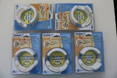 Safety 1st Lever Handle Child Lock 48400 LOT OF 5