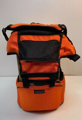 Pognae Orange/black  3 in 1 Smart Hipseat Baby Carrier Pre-owned