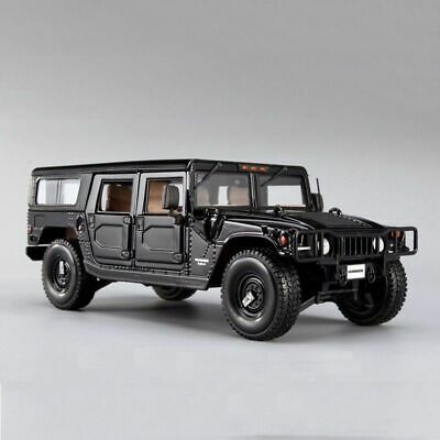 1/18 Maisto Hummer H1 Car Model Alloy Diecast Mini Vehicles Toy Black Color