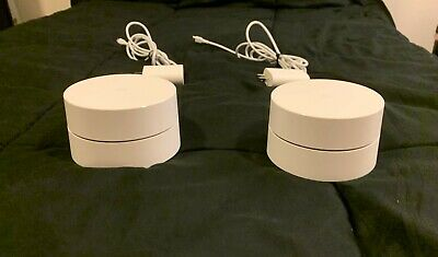 Google WiFi AC1200 Dual-band Mesh Wifi Router - 2 PACK-  Wifi Router+Wifi Point