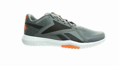 Reebok Mens Flexagon Force 2.0 Gray Cross Training Shoes Size 10 (776175)