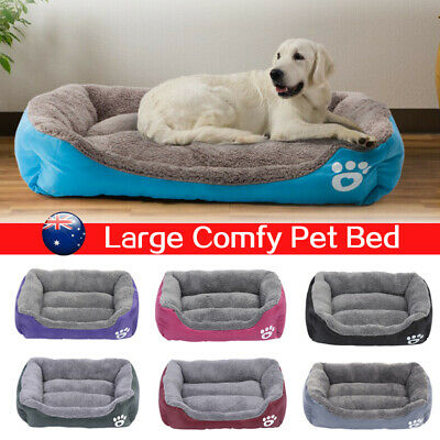 Soft Warm Pet Dog Cat Bed Puppy Cushion House Kennel Mat Blanket Washable Kitten