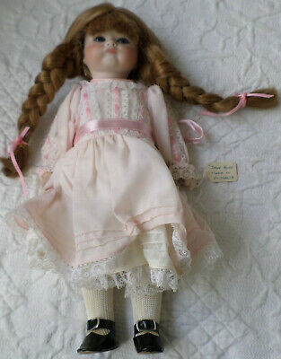 "Antique Collectable Doll~Jane Ayre~""Pouty""~All Bisque~Made In Australia"